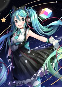 Rating: Safe Score: 58 Tags: dr_poapo dress hatsune_miku headphones magical_mirai pantyhose vocaloid User: Mr_GT