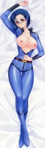 Rating: Questionable Score: 97 Tags: bodysuit breasts carnelian dakimakura fixed megane niimi_kaoru nipples no_bra open_shirt uchuu_senkan_yamato User: 雪車町