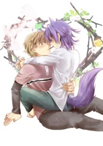Rating: Safe Score: 9 Tags: amano_sakuya animal_ears male mutou_tooru shiki tail yaoi yuuki_natsuno User: charunetra