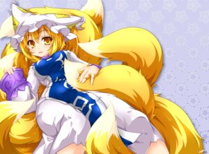 Rating: Safe Score: 21 Tags: kazami_karasu kitsune tail touhou yakumo_ran User: Mr_GT