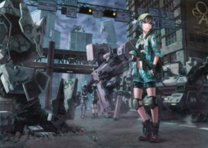 Rating: Safe Score: 54 Tags: armored_core gun kawashiro_nitori kurione mecha touhou User: blooregardo