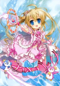 Rating: Safe Score: 39 Tags: cardfight_vanguard fujima_takuya mermaid top_idol_pacifica User: crim