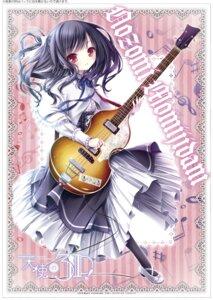 Rating: Safe Score: 33 Tags: guitar heels momijidani_nozomi pantyhose seifuku tenshi_no_three_piece! tinkle User: saemonnokami