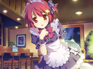 Rating: Safe Score: 31 Tags: favorite game_cg hoshizora_no_memoria maid minahoshi_asuho shida_kazuhiro User: blooregardo