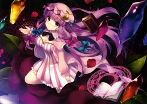 Rating: Safe Score: 40 Tags: cleavage dress masaru patchouli_knowledge scanning_dust touhou User: SweetLemonade
