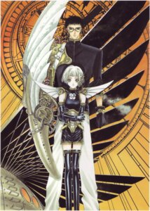 Rating: Safe Score: 4 Tags: clamp clover ryuu_f_kazuhiko suu_(clover) User: Share