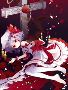 Rating: Safe Score: 54 Tags: baocaizi dress pantyhose remilia_scarlet touhou wings User: Mr_GT