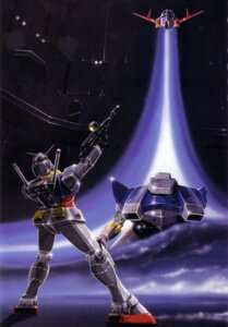 Rating: Safe Score: 2 Tags: gundam mecha mobile_suit_gundam okawara_kunio rx-78-2_gundam User: Radioactive
