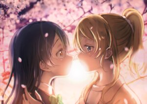 Rating: Safe Score: 12 Tags: ayase_eli love_live! seifuku sonoda_umi tagme yuri User: Spidey