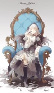 Rating: Safe Score: 33 Tags: dress garter lolita_fashion nine rozen_maiden suigintou User: Radioactive