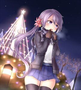 Rating: Safe Score: 37 Tags: akebono_(kancolle) kantai_collection neit_ni_sei open_shirt seifuku thighhighs User: Mr_GT