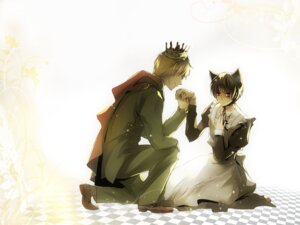 Rating: Safe Score: 5 Tags: hetalia_axis_powers maid male mamecha wallpaper User: hobbito