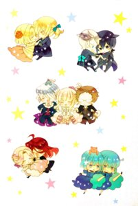 Rating: Safe Score: 9 Tags: ada_vessalius chibi dress echo eliot_nightray leo_baskerville megane mochizuki_jun pandora_hearts reim_lunettes rufus_barma sharon_rainsworth sheryl_rainsworth vincent_nightray xerxes_break User: scathach