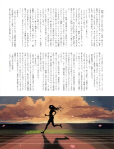 Rating: Safe Score: 5 Tags: bakemonogatari senjougahara_hitagi silhouette text vofan User: drop