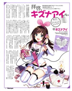Rating: Safe Score: 18 Tags: a.i._channel kizuna_ai nardack thighhighs User: drop
