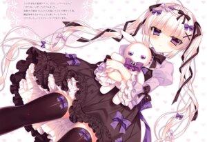 Rating: Safe Score: 31 Tags: dress gothic_lolita lolita_fashion thighhighs tsukikage_nemu User: kiyoe