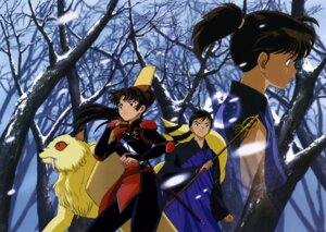 Rating: Safe Score: 4 Tags: inuyasha kirara kohaku_(inuyasha) miroku sango screening User: charunetra