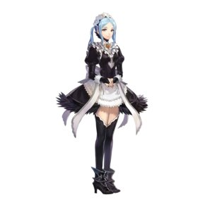 Rating: Questionable Score: 12 Tags: fire_emblem fire_emblem_heroes fire_emblem_if flora_(fire_emblem) hako heels maid nintendo thighhighs User: fly24