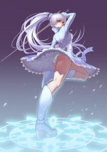 Rating: Safe Score: 75 Tags: bojue_yu_yaojing pantsu rwby sword weiss_schnee User: zero|fade