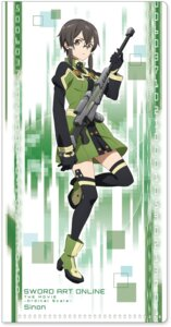 Rating: Safe Score: 41 Tags: gun heels megane sinon sword_art_online tagme thighhighs User: saemonnokami