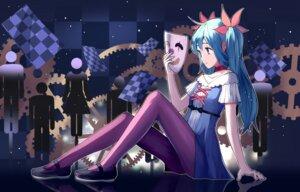 Rating: Safe Score: 43 Tags: dress hatsune_miku pantyhose siji_(szh5522) vocaloid User: charunetra