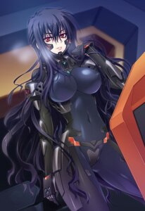 Rating: Questionable Score: 58 Tags: beatrix_brehme bodysuit carnelian erect_nipples muvluv schwarzesmarken User: charunetra