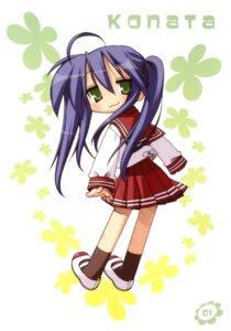 Rating: Safe Score: 5 Tags: izumi_konata lucky_star seifuku yoshimizu_kagami User: vita