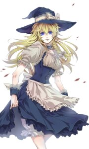 Rating: Safe Score: 19 Tags: kirisame_marisa touhou witch yukimichi User: charunetra