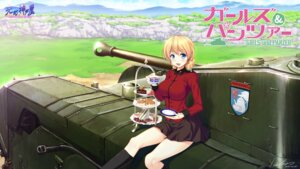 Rating: Safe Score: 25 Tags: darjeeling girls_und_panzer hozumi_kaoru uniform User: Mr_GT