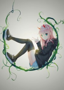 Rating: Safe Score: 40 Tags: darling_in_the_franxx horns sweater tagme thighhighs torn_clothes zero_two_(darling_in_the_franxx) User: Spidey