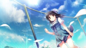 Rating: Safe Score: 49 Tags: cabbit game_cg kimi_e_okuru_sora_no_hana kitao_sekka seifuku yukie User: Twinsenzw
