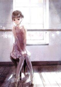Rating: Safe Score: 73 Tags: dress kishida_mel maigo_tsuushin pantyhose User: androgyne