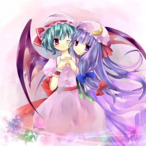 Rating: Safe Score: 12 Tags: jin_rikuri patchouli_knowledge remilia_scarlet touhou User: Silvance