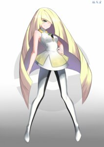 Rating: Safe Score: 26 Tags: dress lusamine neko_(artist) pantyhose pokemon User: charunetra