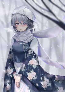 Rating: Safe Score: 30 Tags: kimono letty_whiterock sei_ichi_(shiratamamikan) touhou User: Mr_GT