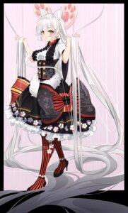 Rating: Safe Score: 12 Tags: animal_ears cqingwei heels lolita_fashion tail wa_lolita User: whitespace1