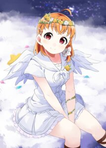 Rating: Safe Score: 18 Tags: dress love_live!_sunshine!! takami_chika totoki86 wings User: charunetra
