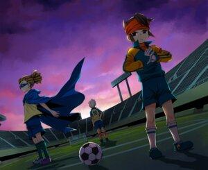 Rating: Safe Score: 2 Tags: elmou endou_mamoru goenji_shuuya inazuma_eleven kidou_yuuto male megane soccer uniform User: Deathchipelago