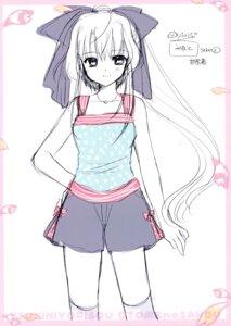 Rating: Safe Score: 12 Tags: nishimata_aoi sketch tsuki_ni_yorisou_otome_no_sahou yanagase_minato User: Hatsukoi