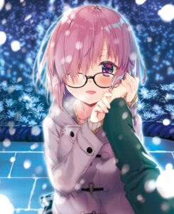 Rating: Safe Score: 43 Tags: fate/grand_order kagome mash_kyrielight megane sweater User: nphuongsun93