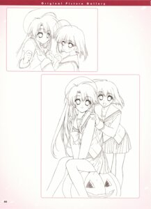 Rating: Safe Score: 8 Tags: boy_meets_girl seifuku shintarou sketch User: admin2
