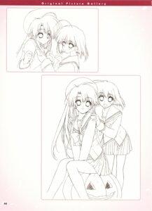 Rating: Safe Score: 6 Tags: boy_meets_girl seifuku shintarou sketch User: admin2