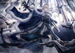 Rating: Safe Score: 25 Tags: armor artist_revision dress fate/grand_order junpaku_karen saber sword User: Mr_GT