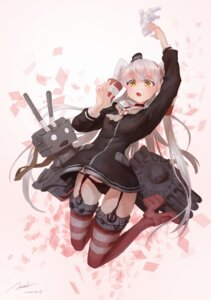 Rating: Questionable Score: 64 Tags: amatsukaze_(kancolle) cameltoe criin heels kantai_collection pantsu rensouhou-kun stockings thighhighs User: zero|fade