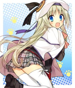 Rating: Safe Score: 28 Tags: hanabana_tsubomi little_busters! noumi_kudryavka seifuku thighhighs User: aihost