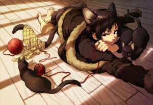 Rating: Safe Score: 33 Tags: animal_ears durarara!! male neko nekomimi nogu orihara_izaya tail User: Radioactive