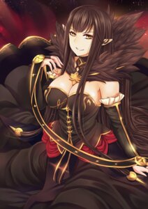 Rating: Safe Score: 22 Tags: assassin_of_red_(fate/apocrypha) cleavage dress fate/apocrypha fate/stay_night pointy_ears tsang_yu_chun User: 김도엽