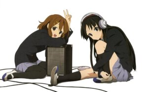 Rating: Safe Score: 23 Tags: akiyama_mio headphones hirasawa_yui jpeg_artifacts k-on! pantyhose seifuku sezaki_rie User: Radioactive