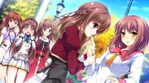 Rating: Safe Score: 20 Tags: asakura_chihiro crossover ensemble_(company) game_cg hana_to_otome_ni_shukufuku_wo kimishima_ao kurifuto mahara_aoi miyama_mizuki mutou_kurihito otome_ga_irodoru_koi_no_essence otome_ga_kanaderu_koi_no_aria otome_ga_tsumugu_koi_no_canvas sakura_mau_otome_no_rondo seifuku shouna_mitsuishi trap tsukahara_izumi tsukioka_akira User: Veshurik