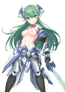 Rating: Questionable Score: 71 Tags: armor lu_hao_liang nipples pointy_ears sword topless User: Mr_GT